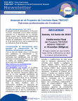 TCC-SCV Newsletter no3 in Spanish