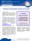 TCC-SCV Newsletter no3 in French