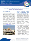 TCC-SCV Newsletter No1 in Croatian
